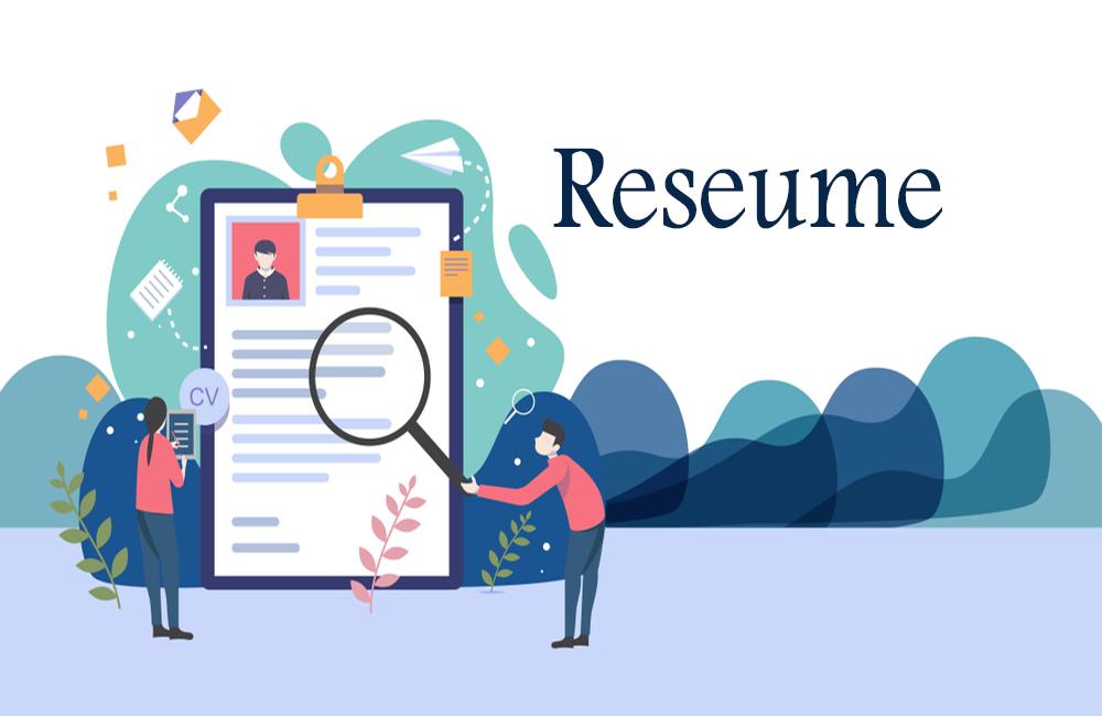 ساخت رزومه و CV حرفهای انگلیسی